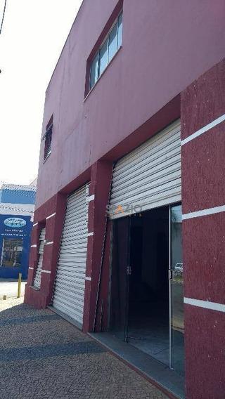 Salão Comercial Para Locação, Centro, Rio Claro. - Sl0002