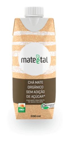 Chá Mate Orgânico Zero 330 Ml (01 Unidade)