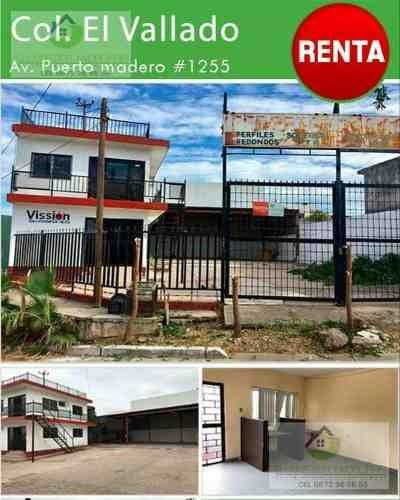 Se Renta Local En Culiacan, En El Vallado.