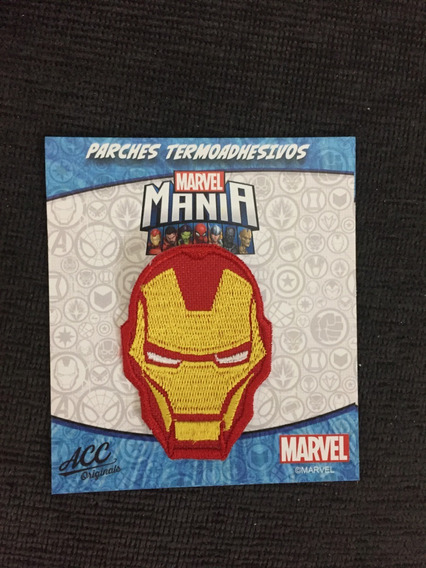 Parche Termo Transferible Marvel Iron Man Accoriginals