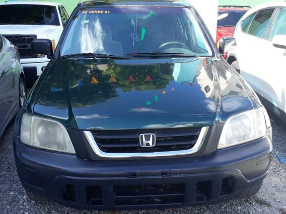 Honda Cr-v Verde 2001 En Super Oferta