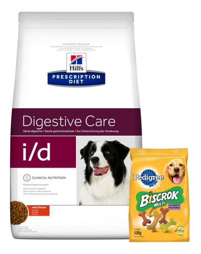 Hills Perro Prescription Diet I/d 8k+ Promo -ver Foto+ Envío