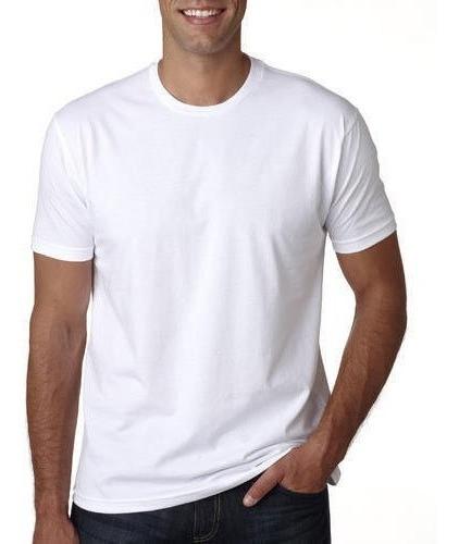 Kit 20 Camiseta Masculina Lisa Poliéster Camisa Sublimação