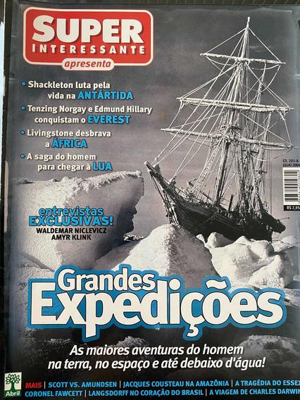Revista Superinteressante Apresenta grande Expedições