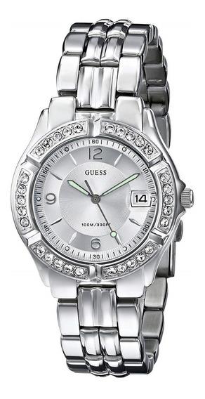 Reloj Guess Para Mujer Modelo G75511m Correa Acero Nuevo