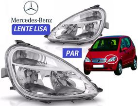 Par Farol Mercedes Classe A 2003 Lente Lisa Original Depo