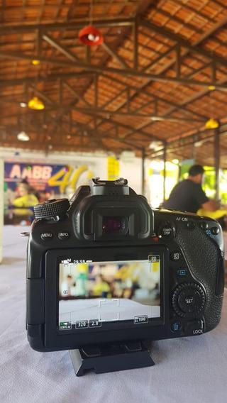 Câmera Fotográfica Canon 80d + Lente 50mm