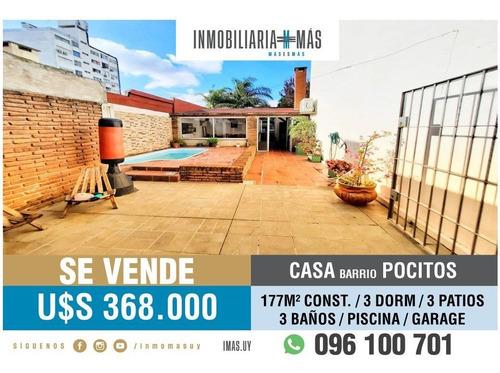 Casa Piscina Barbacoa Venta Montevideo Pocitos Imas.uy L *
