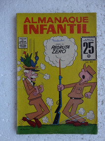 Almanaque Infantil Nº 4! Rge Dez 1965!