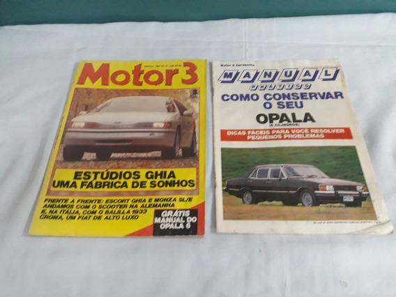 Revista Motor 3 Nº 81 Mar/87 C/manual Opala - Ler Anuncio