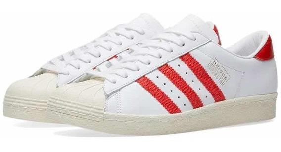 Tenis adidas Superstar Og Concha Piel Originals Promodescuen