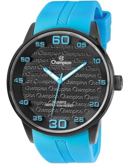 Relógio Masculino Champion Ch30206o Borracha