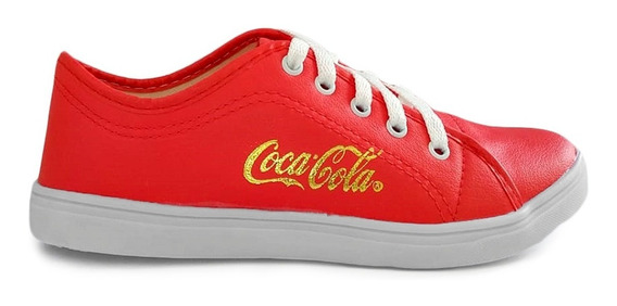 2 Pares Sapatenis Tenis Alpargata Coca Cola Feminino