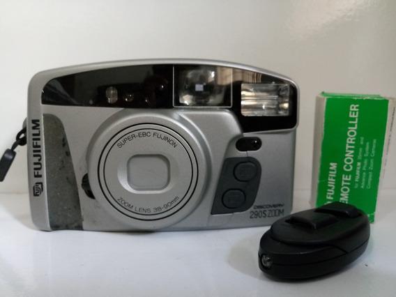 Rarissima Cãmera Fotográfica Retrô Fuji Discovery Completa