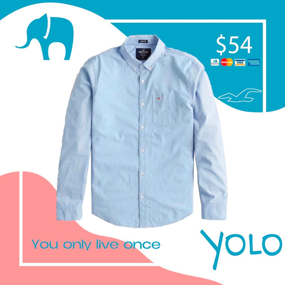 Camisa Hollister Celeste Small