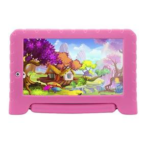 Tablet Multilaser Rosa Kid Pad Plus Quad Core 8gb 7pol