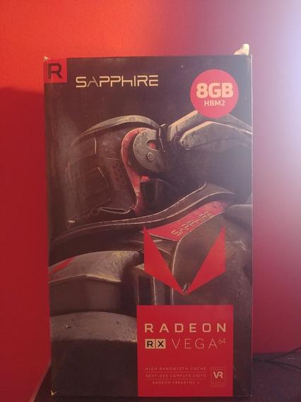 Sapphire Radeon Vega 64 - Backplate - Vr Ready - 8gb Hbm2