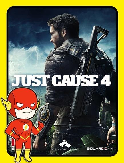 Just Cause 4 Pc - Steam Key (envio Flash)