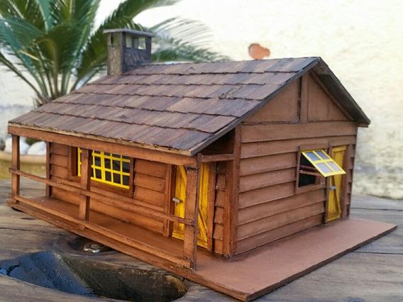 Maquete Miniatura Cabana P/ Incenso