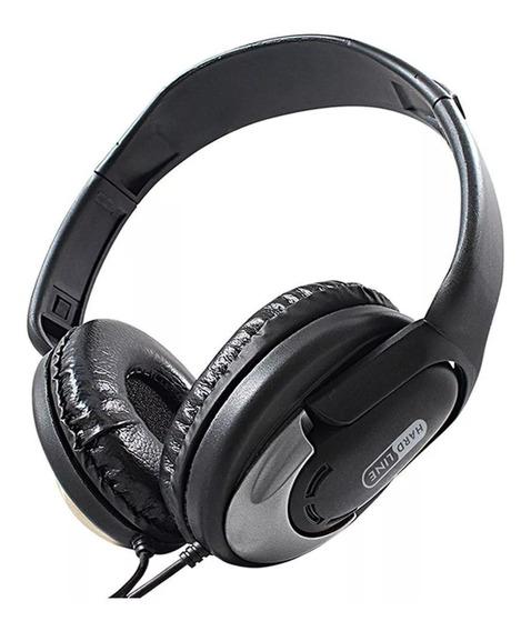 Fone De Ouvido Headphone Conexao P2 Hp 350 Hard Line