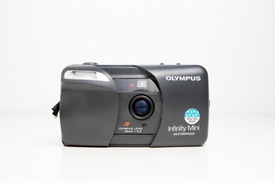 Câmera Fotográfica Olympus Mini Infinity Com Defeito
