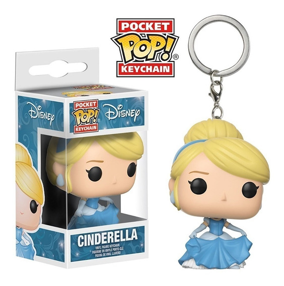 Llavero Funko Pop Cinderella Cenicienta Disney Full