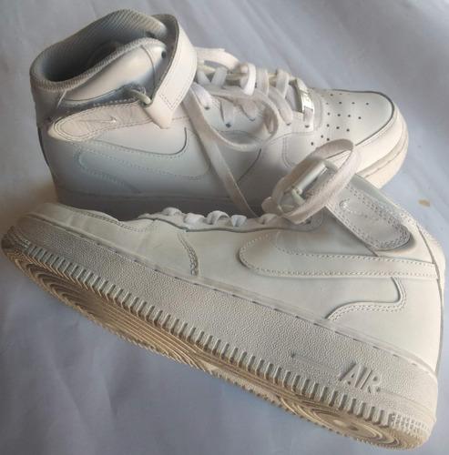 Tênis  Air Force 1 Mid Branco Nike - 37