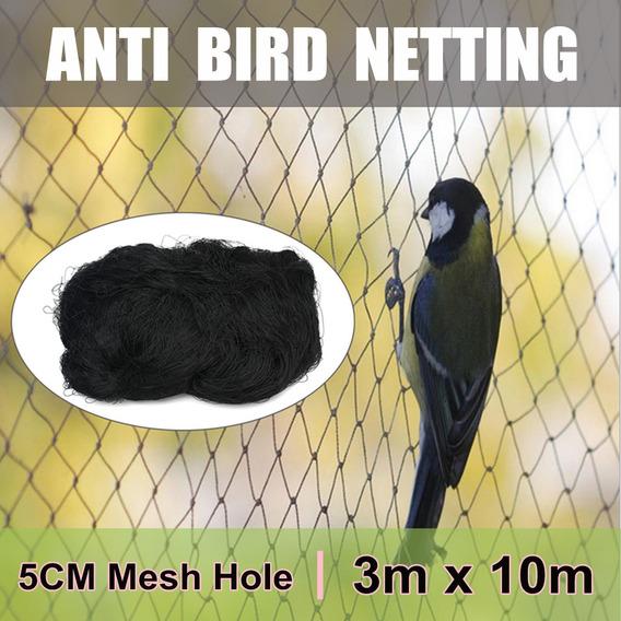 10x3m Jardim Anti Pássaro Rede Frutas Aves Aviário Poud Prev