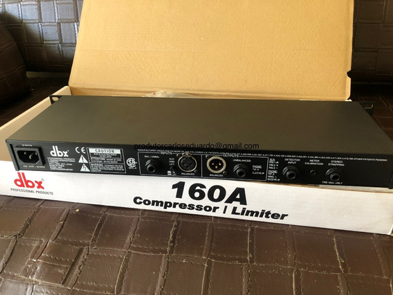 Compressor Dbx 160a | Original