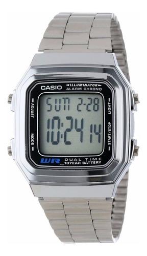 Reloj Casio Retro A-178wa-1a Para Todos Los Estilos Unisex