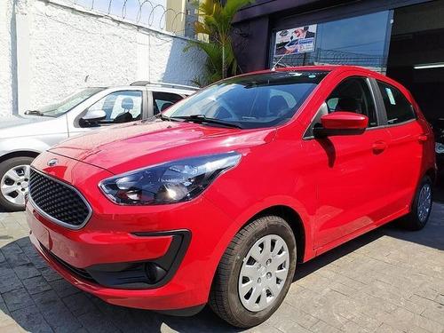 Ford Ka 1.0 Ti-vct Se 2021-0km Garantia Fab./preço Real!