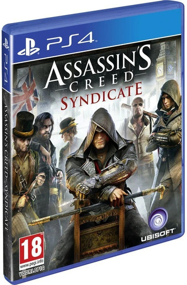 Assassins Creed Syndicate Ps4 Novo Midia Fisica