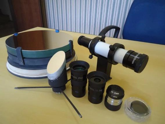 Projeto Telescópio Passo A Passo+ 600 Brindes Frete Grátis