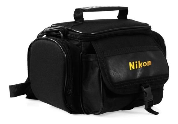 Bolsa Bag Nikon Para Câmeras E Acessórios Semi E Profissiona