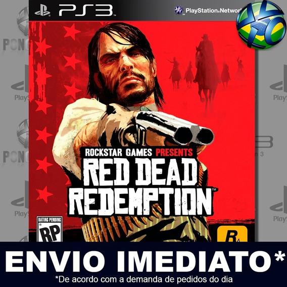 Red Dead Redemption Ps3 Psn Jogo Em Promoção Pronta Entrega