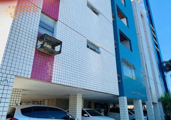 Apartamento Com 3 Dormitórios À Venda, 109 M² Por R$ 360.000,00 - Parnamirim - Recife/pe - Ap3354