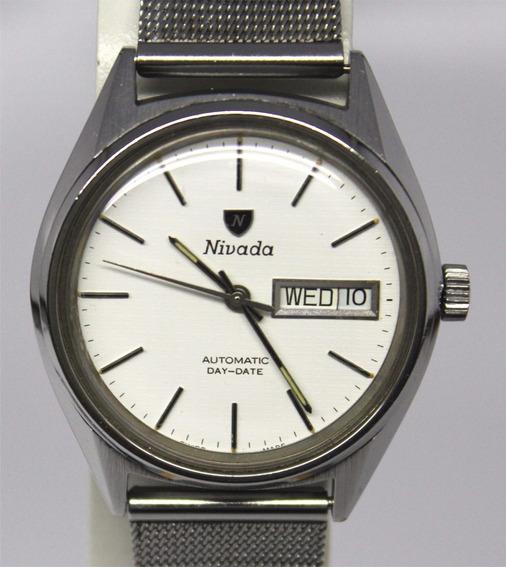 Reloj Suizo Nivada F2 Automatico Eta 2879 De 4500 A 3699