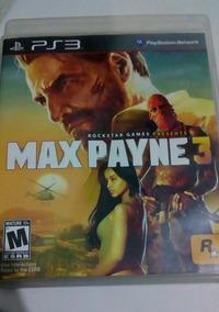 Jogo Max Payne 3 Ps3 Mídia Física