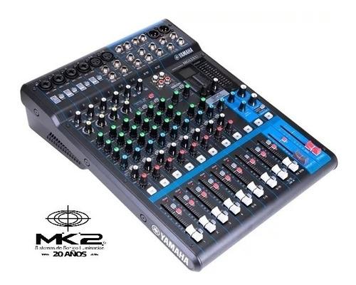 Yamaha Mg12-xu Consola Mixer 12 Canales Usb Efectos Mg12xu