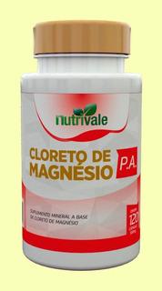 Cloreto De Magnesio P.a. Nutrivale 60 Cápsulas 500mg