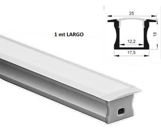Lampara Perfil Empotrar, Luminaria Led, Tubo Led 20w 1mtl