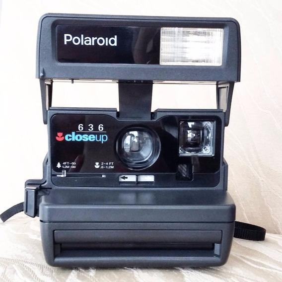 Máquina Polaroid Closeup 636 Na Caixa Original