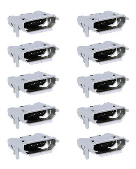 Conector De Carga Caixa De Som Jbl Flip 2 Kit 10 Unidades