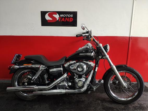 Harley Davidson Dyna Super Glide Custom Fxdc Abs 2011 Preta