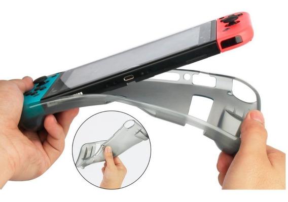 Silicone Tpu Case Cover Para Nintendo Switch Pronta Entrega