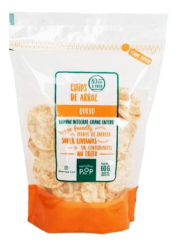 Chip De Arroz Yamani Queso Natural Pop No Frito Libre Gluten