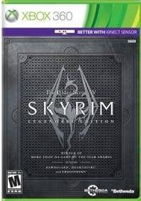 Skyrim Legendary Edition (mídia Física) Xbox 360