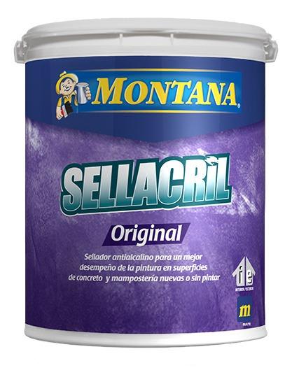 Sellador Antialcalino Sellacril Cuñete (4 Galones) Montana