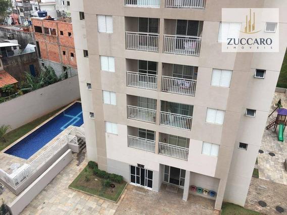 Apartamento Com 2 Dormitórios Para Alugar, 55 M² Por R$ 1.300/mês - Jardim Rosa De Franca - Guarulhos/sp - Ap13539