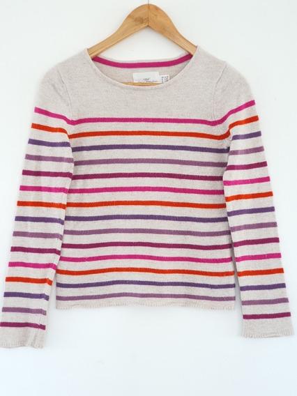 Sweater H&m Rayado Nena